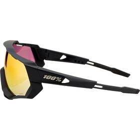 100% Speedtrap Okulary, czarny/pomarańczowy